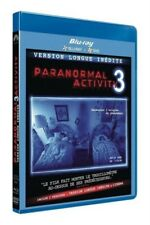 Paranormal activity 3 - Version Longue inédite (BLU-RAY + DVD) NEUF SOUS BLISTER