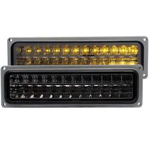 Anzo 511068 Parking Light Assy LED Smoke Lens Black Housing For 95-99 Tahoe NEW