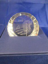 Swarovski Collectors Society 2002 Isadora Paperweight