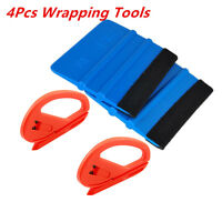 4XUniversal Snitty Safety Vinyl Cutter & 3M Felt Edge Squeegee Car Wrapping Tool