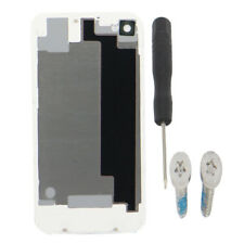 OEM Genuine Glass Battery Cover Back Door Replacement For iPhone 4 4G 4S +Screws