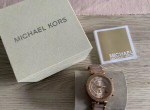 michael kors damenuhr Chronograph rose gold NEU