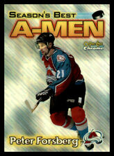 1999-00 O-Pee-Chee Chrome A-Men Refractor #AM2 Peter Forsberg Rare (ref 22698)