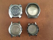 Lot Boîtier case montre vintage Diver horlogerie LIP Zodiac