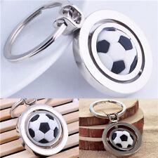 Soccer Ball Rotating Keychain
