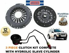 FOR LAND ROVER FREELANDER TD4 2.0 TD 2001-2006 CLUTCH KIT & CONCENTRIC SLAVE CYL