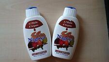2x Nagoya Bodymilch 140ml mit Arganöl, Marokkanisches Originalprodukt 2,25€/0,1L