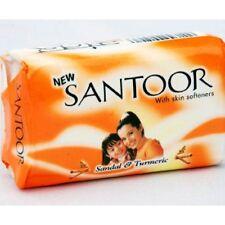 Santoor Sandal & Turmeric Soap - 100g (Pack of 3)