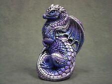 Windstone Editions * Tanzanite Young Dragon * Fantasy Figurine Statue Magic