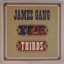 JAMES GANG: Thirds USA ABC 1st Press Orig w/ Inner, Joe Walsh Rock LP