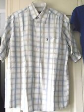 Polo by Ralph Lauren - blue check shirt - size M
