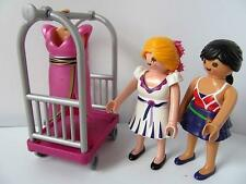 Playmobil Dollshouse/shopping centre/fashion figures with clothes rack NEW