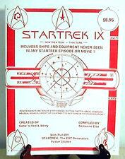 Star Trek IX- Parody UBF Technical Manual-Fanzine/Book- OUT OF PRINT- FREE S&H