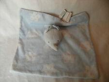"Mayoral Blue Elephant Comforter 12"" x12"""