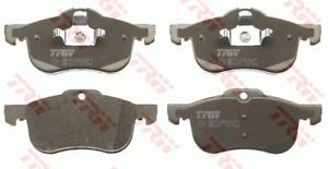 TRW Cotec Front Brake Pad Set GDB1374 fits MG ZT 180 2.5
