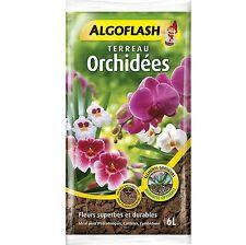 Terreau Orchidées 6 litres Algoflash