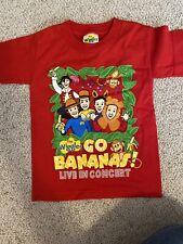 The Wiggles  Go Bananas Concert Shirt