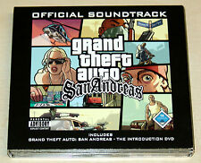 GTA SAN ANDREAS - OFFICIAL SOUNDTRACK - 2CD & INTRODUCTION DVD GRAND THEFT AUTO