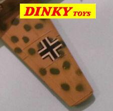 DINKY TOYS BF 109E Messerschmitt No.726 original papier style aile marques