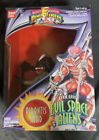 Bandai Mighty Morphin Power Rangers Deluxe Evil Space Aliens Pirantis Head