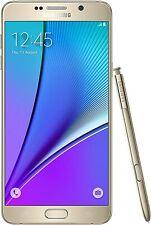 New Samsung Galaxy Note 5 SM-N920 32 GB - Gold Verizon Smartphone