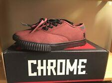 52df13fc06 Chrome Mens Truk Box Canvas Brick Black Sneaker M s7.5   W