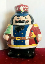 Cookie Jar Toy Soldier 10� Tall Excellent Condition