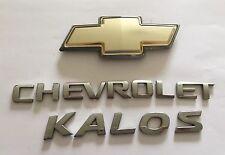 Chevrolet Kalos Hayon Badge Logo emblème Set (B24)