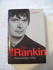 Ian Rankin, Resurrection Men, signed uncorrected proof copy
