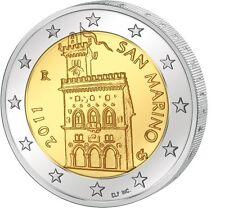"San Marino 2 euro 2011 ""regeringsgebouw Palazzo Pubblico"" . Zo uit de rol!"
