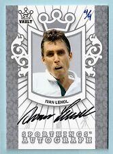 Ivan Lendl 2009 Sportkings Vault Signature Autograph Auto # 4/4
