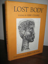 1st Edition LOST BODY Aime Cesaire PABLO PICASSO Art POEMS Poetry FIRST PRINTING