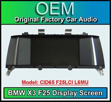 BMW X3 Satellite Navigation display screen, BMW CID65 F25L L6MU, Multi function