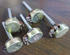 ALPHA - LOT of 5 POTENTIOMETERS - B100K (3), B1M (2)
