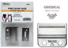Wahl #2191 Precision Fade Adjustable Blade For Senior, Magic Clip Clippers NEW