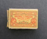 Boite plume BAIGNOL & FARJON 1600 pen nibs box pennini