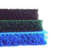 "MATALA BLUE-GREEN-GRAY 3-Color Pack Filter Media-19""x 24"" sheets-koi filtration"