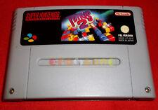 TETRIS 2 Super Nintendo Snes Versione PAL Europea ○ SOLO CARTUCCIA