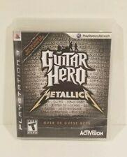 Guitar Hero: Metallica - Playstation 3 Game