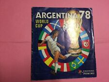ALBUM PANINI WC FOOTBALL ARGENTINA 78 1978 GOOD CONDITION & COMPLET