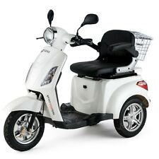 VELECO 3 Wheel ELECTRIC MOBILITY SCOOTER ZT15 WHITE