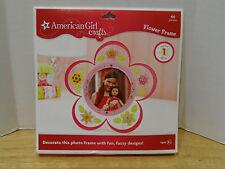 American Girl Crafts Flower Photo Frame Kit NIP VHTF