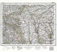 Mapa 1928 polaco Militar tarnopol Zona Polonia grandes réplica cartel impresión pam0457