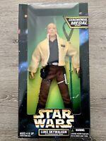 "Star Wars 1997 Luke Skywalker In Ceremonial Gear Action Figure 12"" Kenner Sealed"