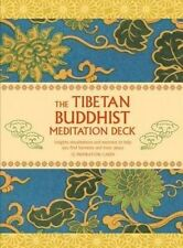 Tibetan Buddhist Meditation by Gill Farrer-Halls - elegantly illustrated deck