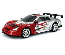 1:24 Nissan Skyline GT-R RC Car Drift Racing King 4WD Remote Control Red New