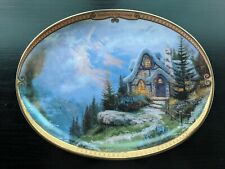 New ListingNew Rainbow's End Cottage Collector Plate Thomas Kinkade Scenes of Serenity