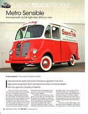 1951 INTERNATIONAL HARVESTER LIGHT DUTY DELIVERY VAN ~  GREAT 3-PAGE ARTICLE