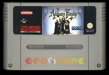 THE ADDAMS FAMILY Super Nintendo SNES Versione Europea PAL ○○○○○ SOLO CARTUCCIA