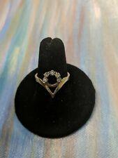 Round Cut Diamonds 14K Yellow Gold, Ring Size 8, 3.7 grams